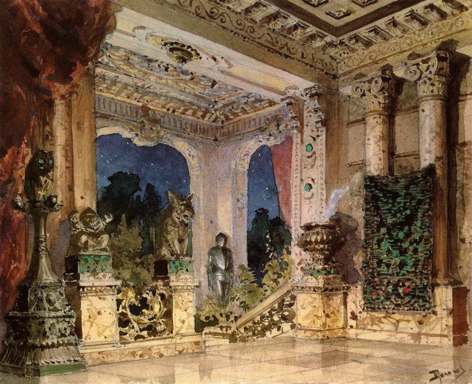 Василий Поленов - Зал в волшебном замке - 1882-1883.jpg