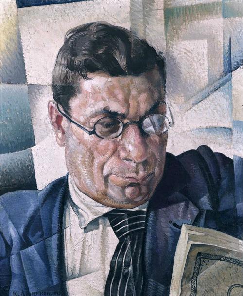 14-Юрий Анненков - Портрет Гржебина З И - 1919.jpg