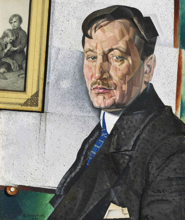 Юрий Анненков - Портрет Александра Николаевича Тихонова - 1922.jpg