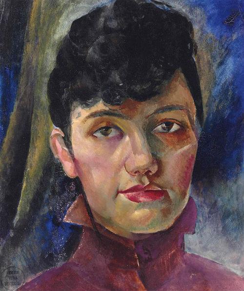 1-Вера Николаевна Рохлина - Автопортрет - около 1919.jpg