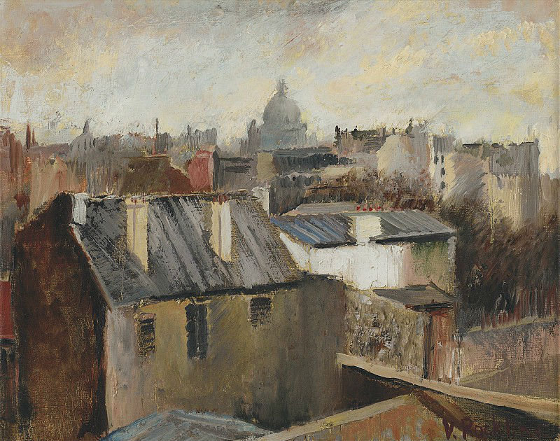 9-Вера Николаевна Рохлина - Крыши Парижа.jpg