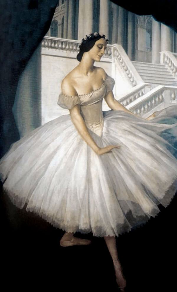 Александр Яковлев  - Балерина Анна Павлова.jpg