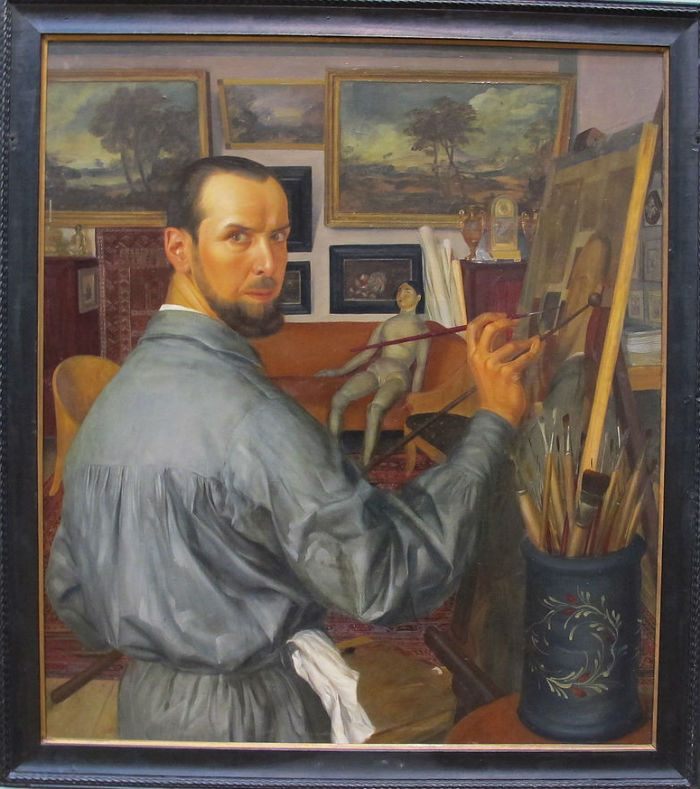 Александр Яковлев - Автопортрет - 1917.JPG