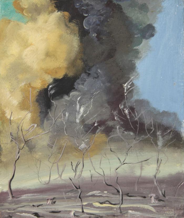 Александр Яковлев - Африканский пейзаж - 1925.jpg