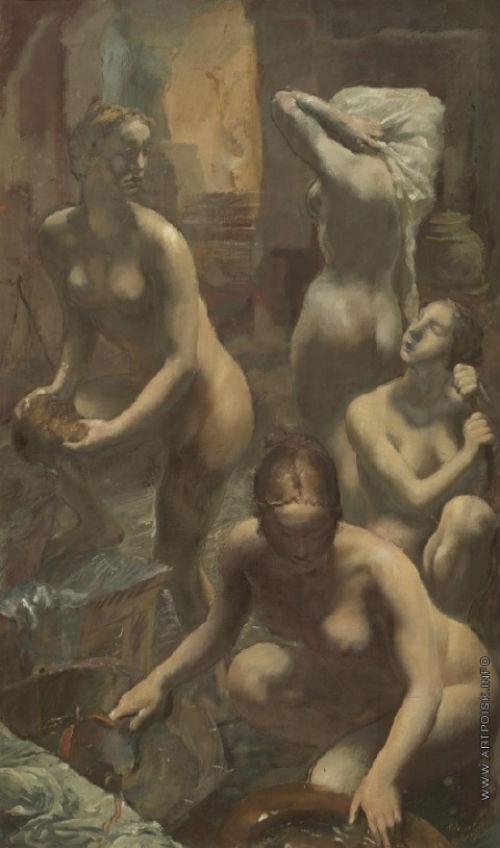 Александр Яковлев - В бане - 1929.jpg