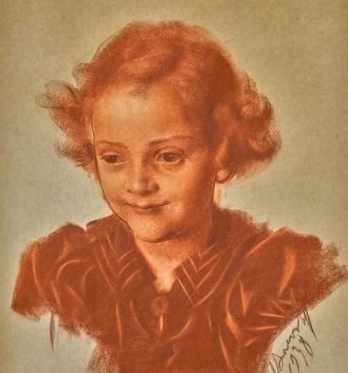 Александр Яковлев - Портрет девочки - 1938.jpg