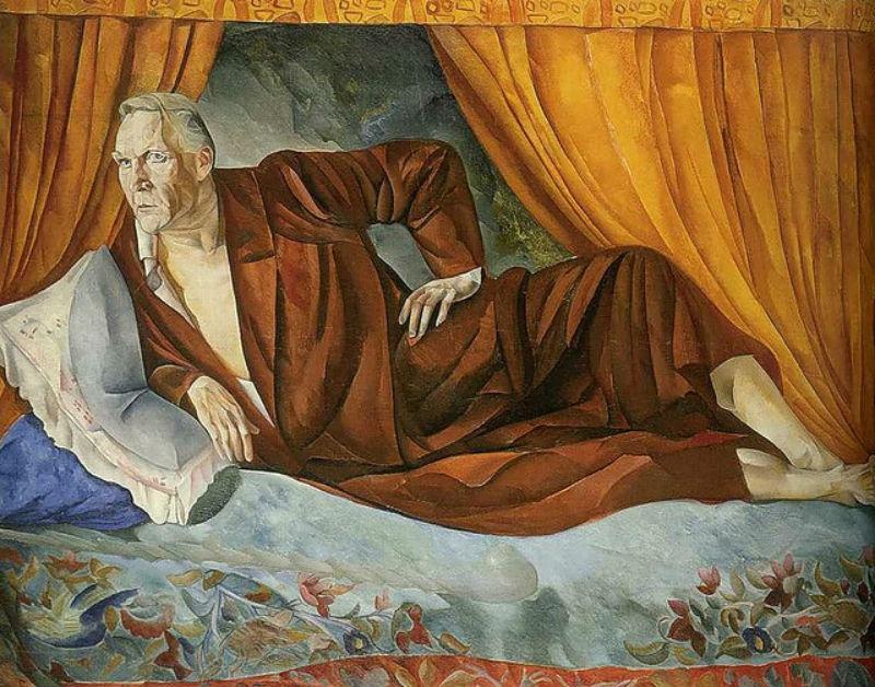 11-Борис Григорьев - Портрет Фёдора Шаляпина - 1918.jpg