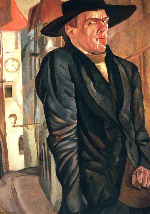 Борис Григорьев - Автопортрет - 1916.jpg