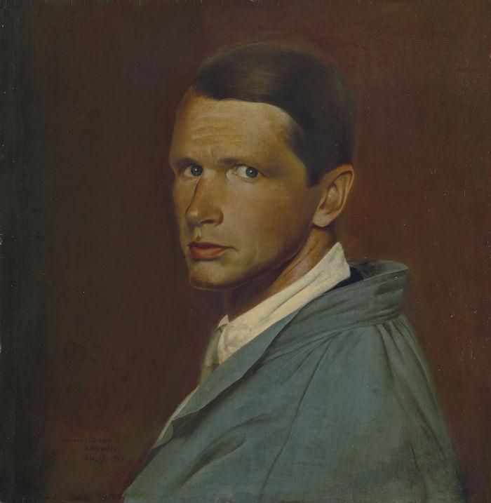 2-Василий Шухаев - Автопортрет в сером халате - 1920-1921.jpg