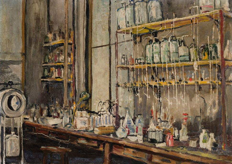Фредерик Грант Бантинг - Лаборатория - 1925.jpg