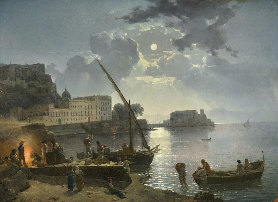 2-Сильвестр Щедрин - Неаполь в лунную ночь - 1827.jpg