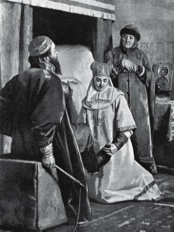 6-Николай Неврев - Чем были крепки узы брачны.jpg