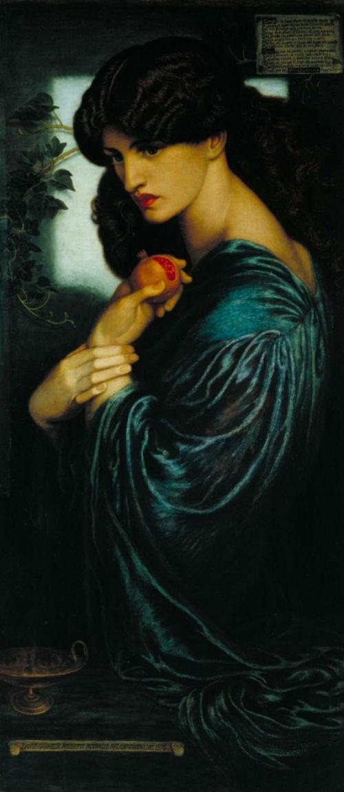 5-Данте Габриэль Россетти - Прозерпина - 1874.jpg