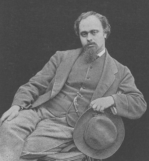 7-Данте Габриэль Россетти (1828 - 1882) - Фото Льюис Кэррол.jpg