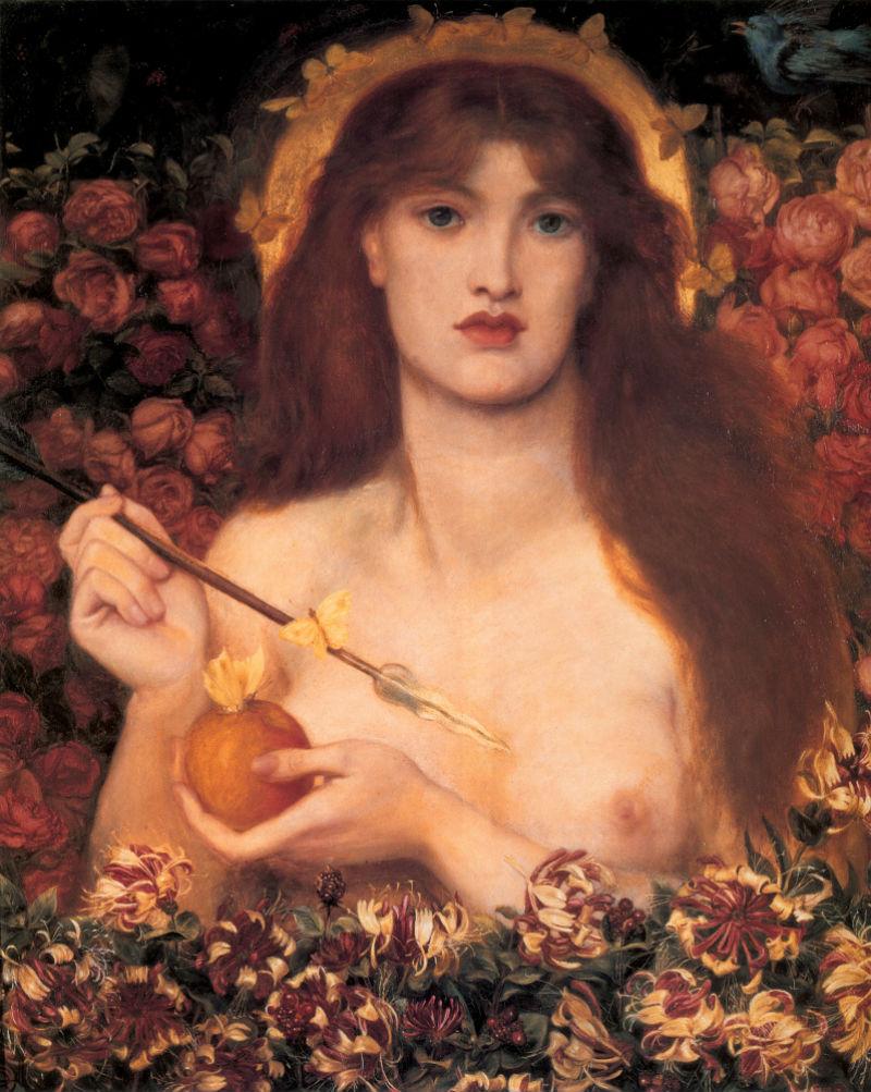 8-Данте Габриэль Россетти  - Венера Вертикордия - 1868.jpg