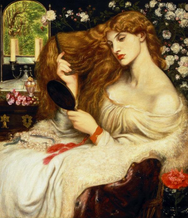 10-Данте Габриэль Россетти - Леди Лилит - 1873.jpg