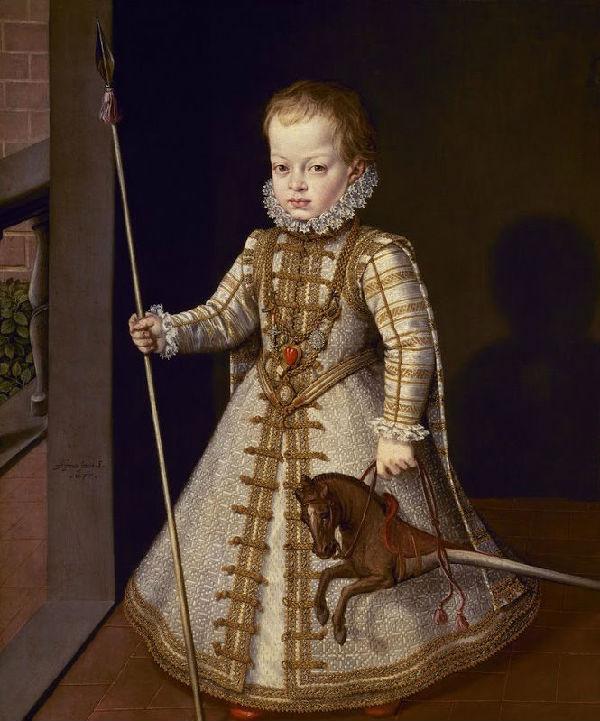 4-Алонсо Санчес Коэльо - Портрет дона Диего, сына Филиппа II.jpg