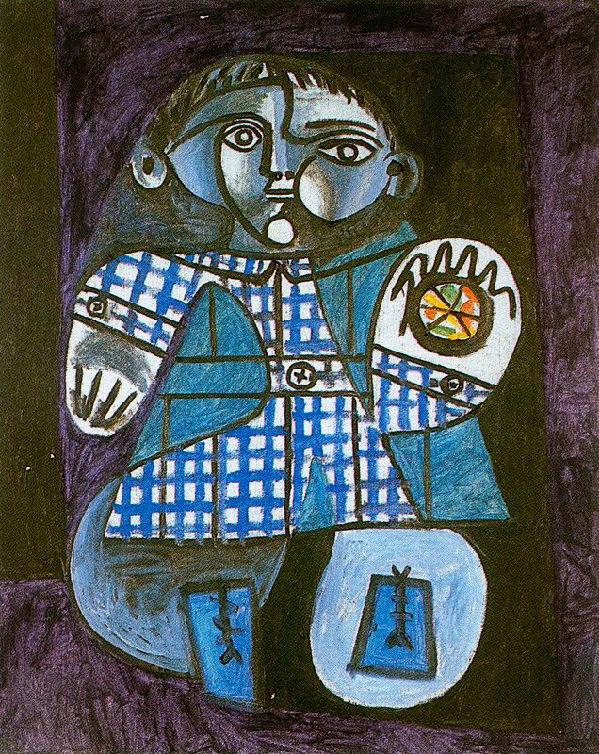 19-Пабло Пикассо - Клод с мячом - 1948.jpg