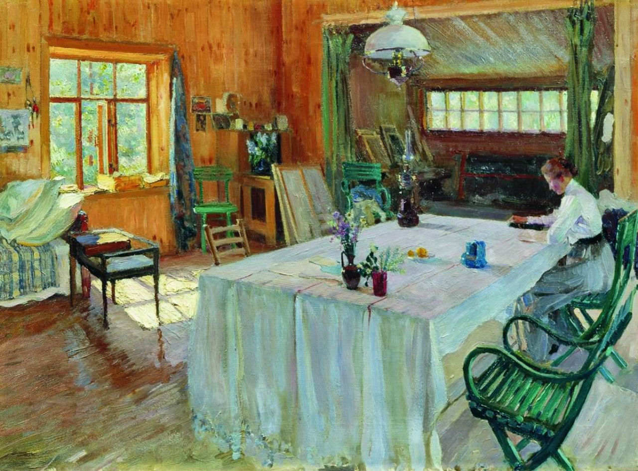 9-У К. А. Коровина - 1907.jpg