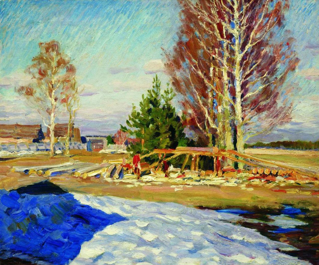 3-Весенний пейзаж - 1913.jpg
