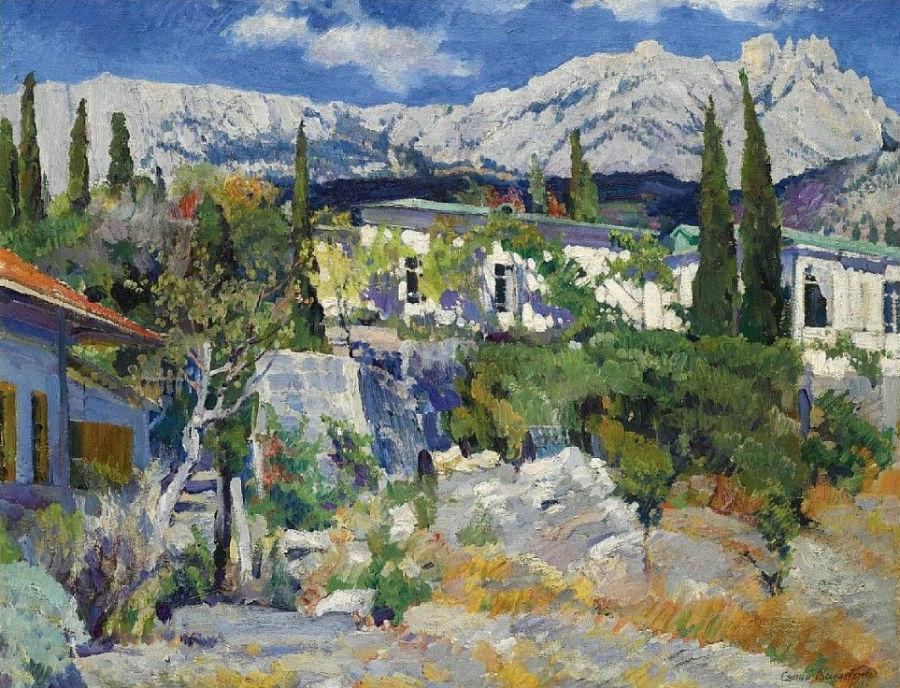 3-Вид на Ай-Петри - 1916.jpg
