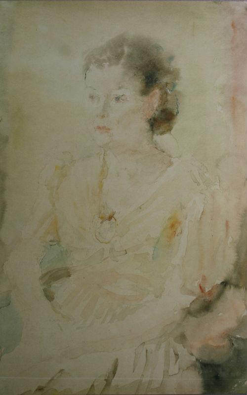9-Портрет оперной певицы Марии Максаковой - конец 1940-х.jpg