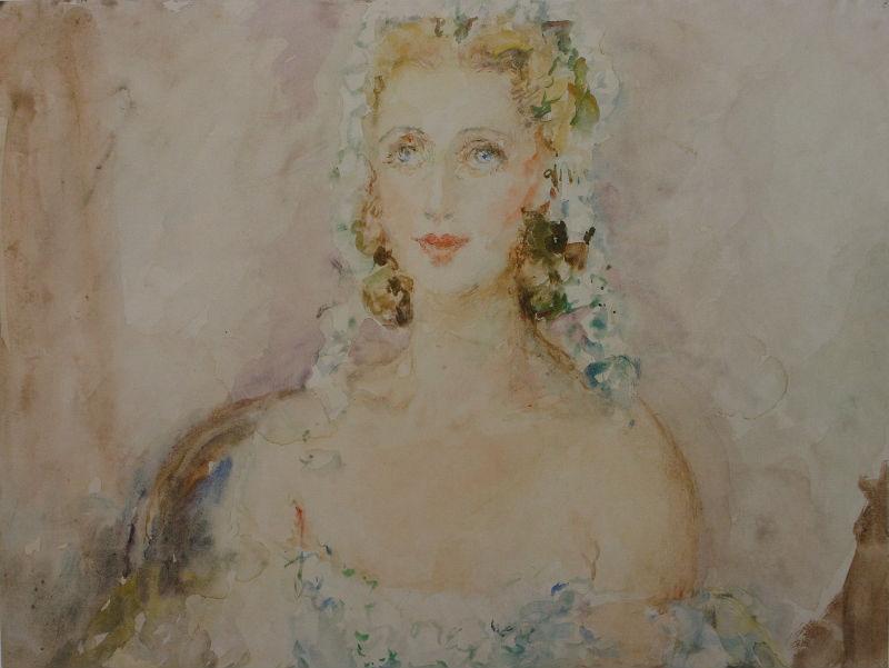 10-Женский портрет - 1940-е.jpg