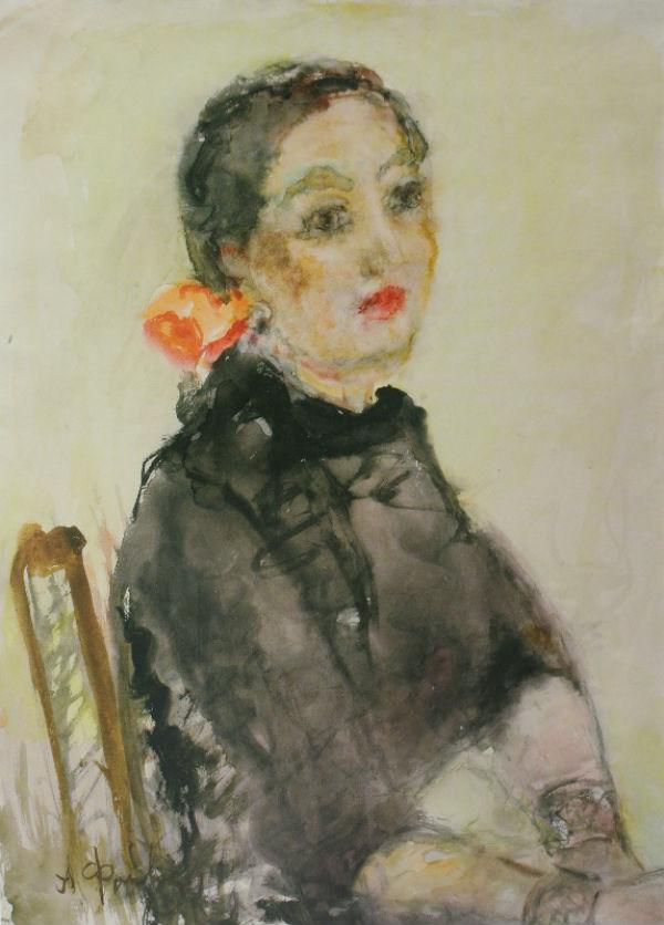 11-Кармен - Портрет Аллы Беляковой - 1959.jpg