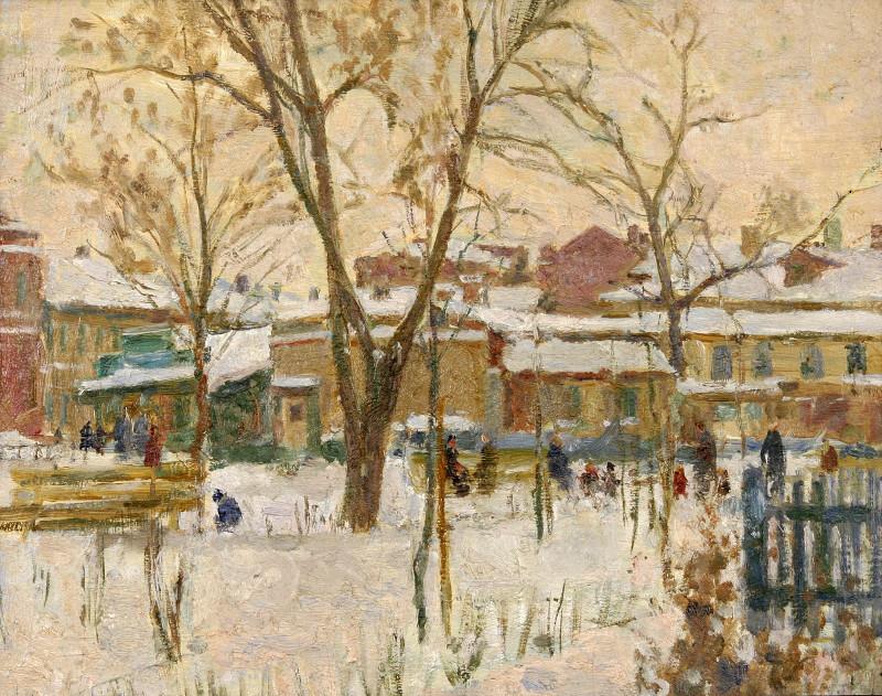 Московский дворик - 1952.jpg