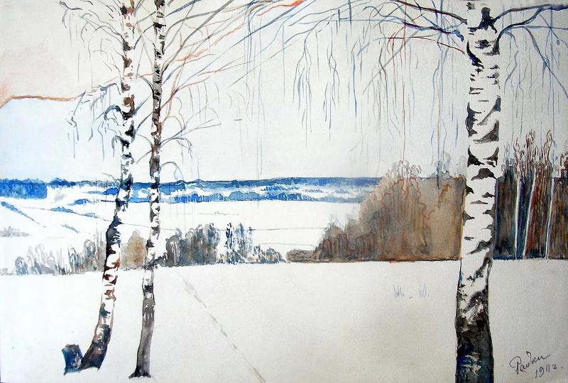 13-Зима в райках - 1911.jpg
