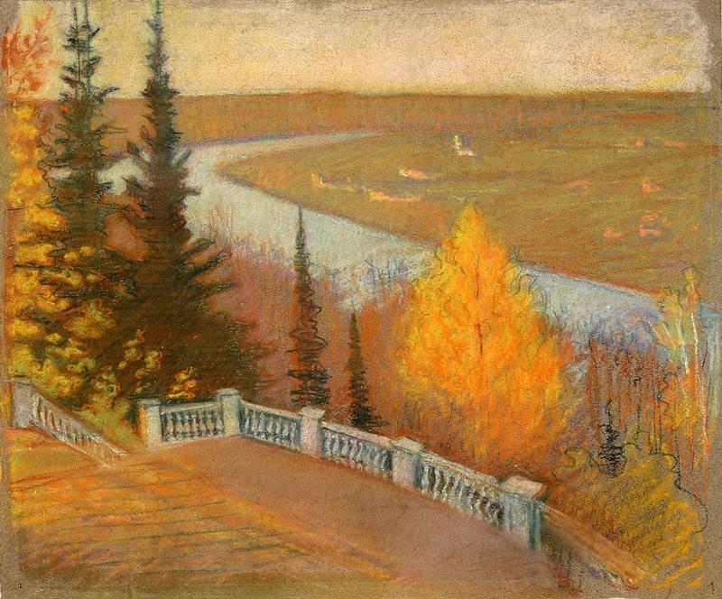 15-осень в Райках - 1910-е годы.jpg