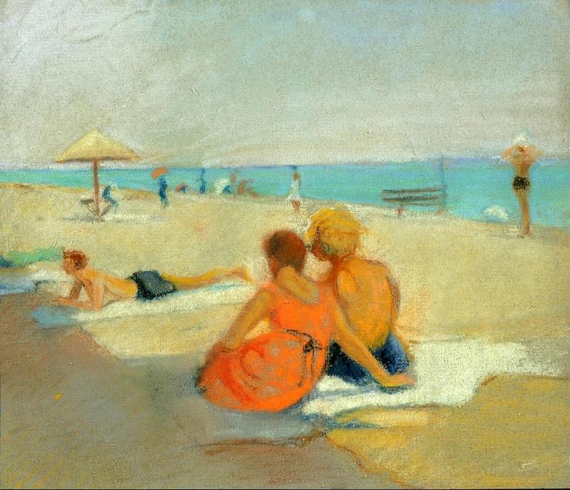 21-На пляже - 1927.jpg