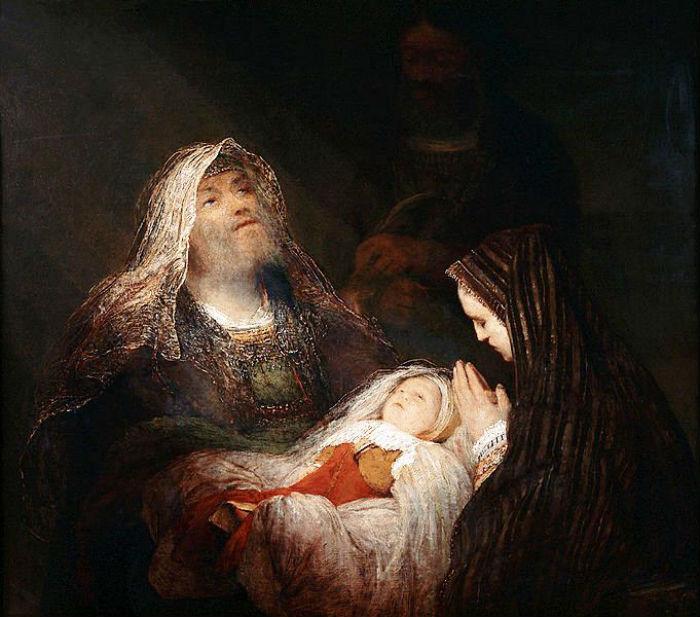 6-Арент де Гелдер (1645-1727 Нидерланды) - Гимн Симеона - около 1700-1710.jpg