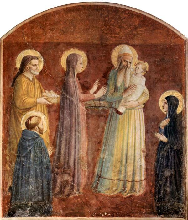 14-Франческо Бассано Младший (1549-1592 Италия) - Сретение Господне - 2.jpg