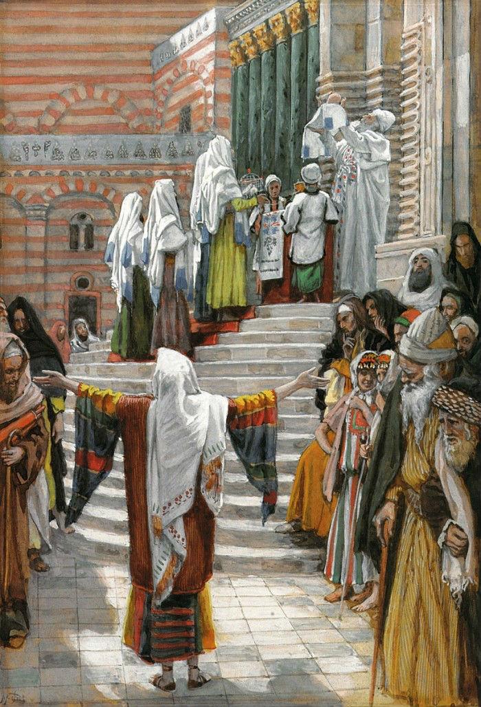 18-Джеймс Тиссо (1836-1902 Франция) - Сретение.jpg