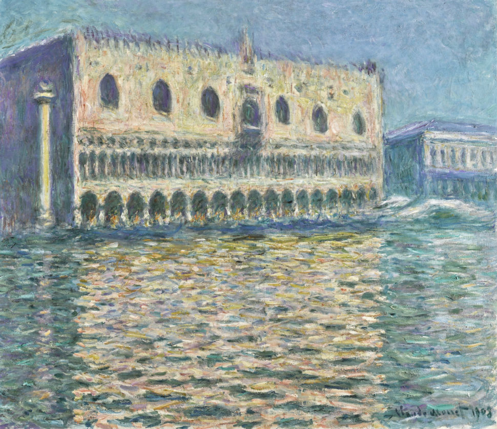 Дворец дожей - Клод Моне - 1908.jpg