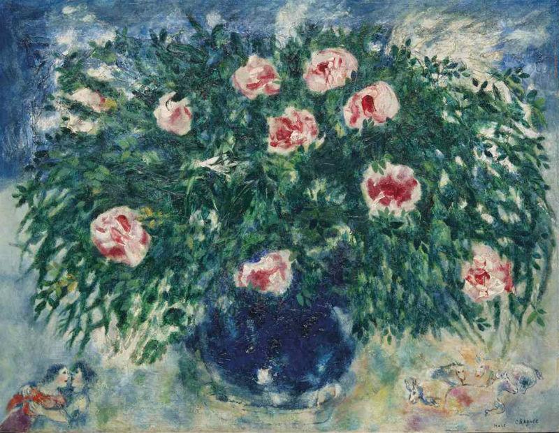 Марк Шагал - Ваза с розами - 1929.jpg