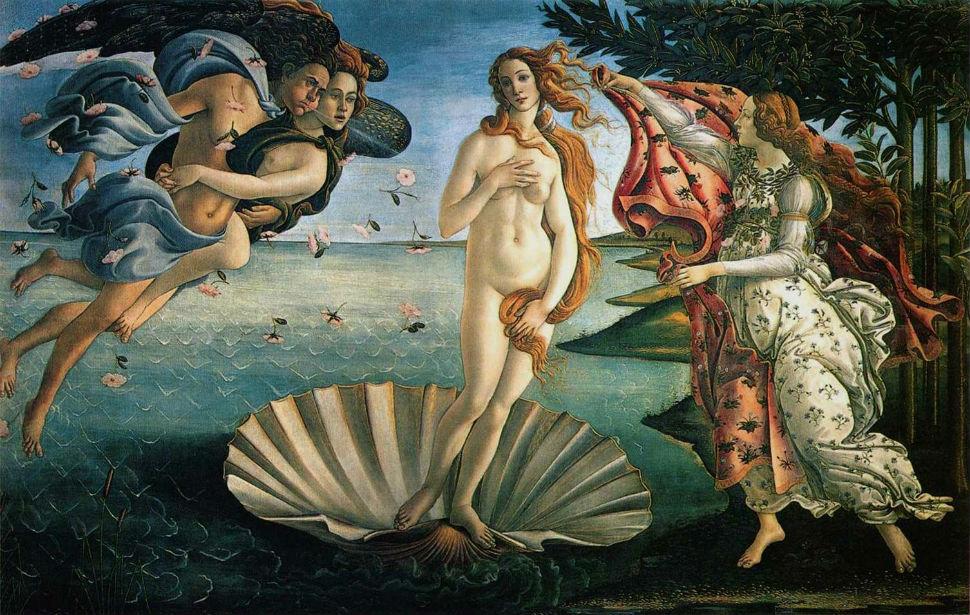 Ботичелли - Рождение Венеры.jpg