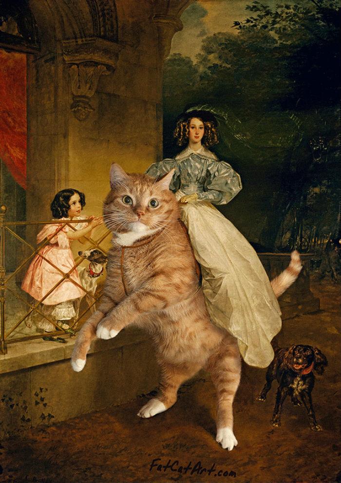 Карл Брюллов - Всадница на коте.jpg