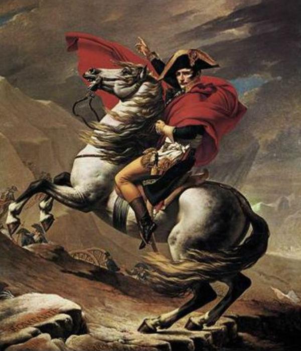 Жак-Луи Давид - Переход Наполеона через Альпы.jpg