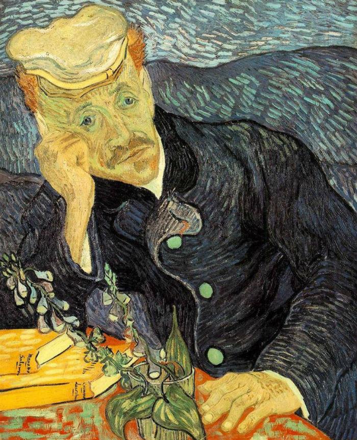 5-Винсент Ван Гог - Портрет доктора Гаше - 1890.jpg
