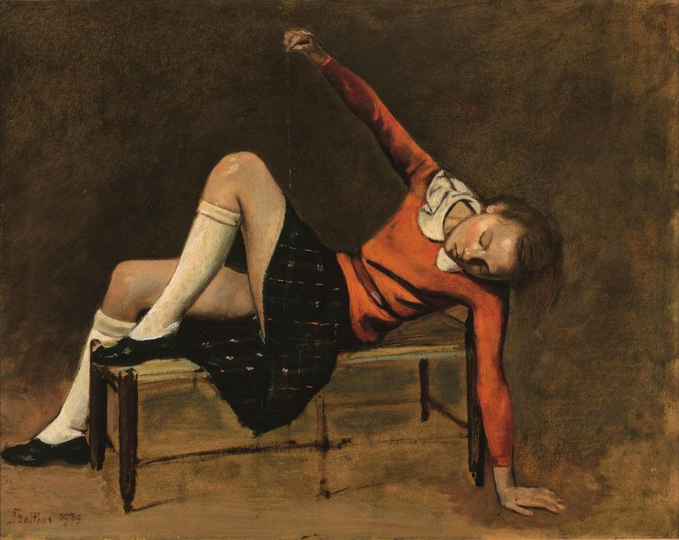 6-Бальтюс (Бальтазар Клоссовски де Рола) - Тереза на скамье - 1939.jpg