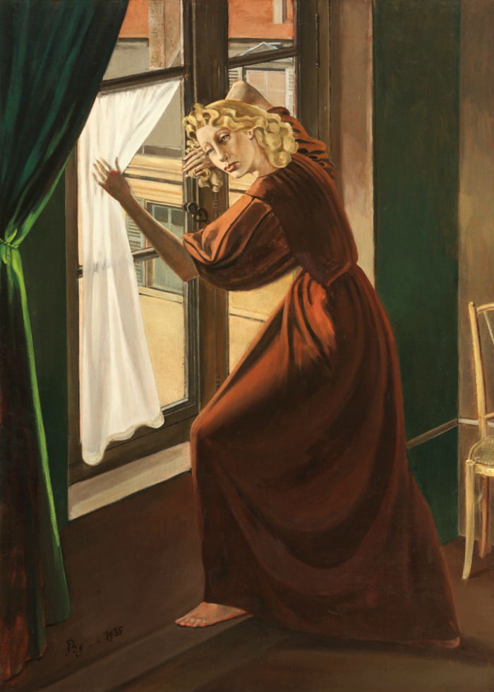 7-Бальтюс (Бальтазар Клоссовски де Рола) - Портрет леди Абди - 1935.jpg