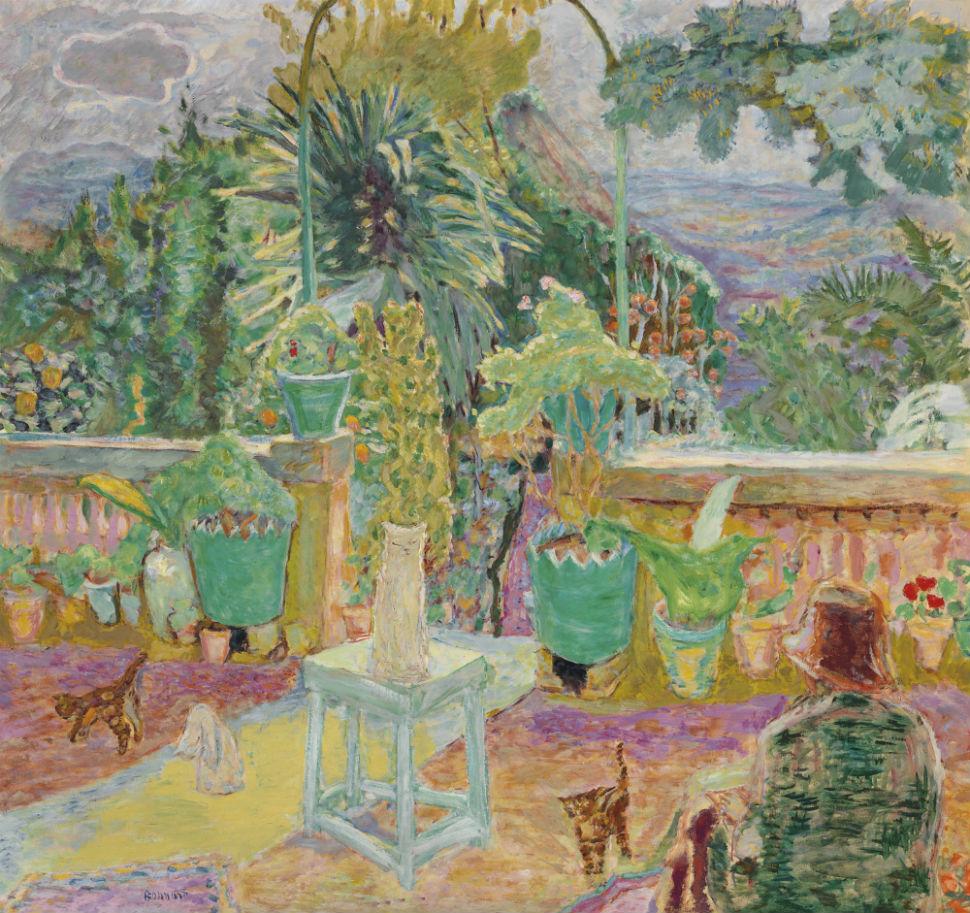 8-Пьер Боннар - Терраса в Грассе - 1912.jpg