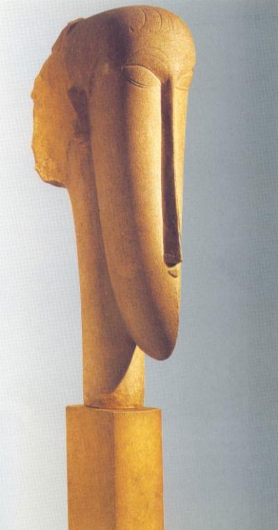 10-Амедео Модильяни - Голова (1911-1912).jpg