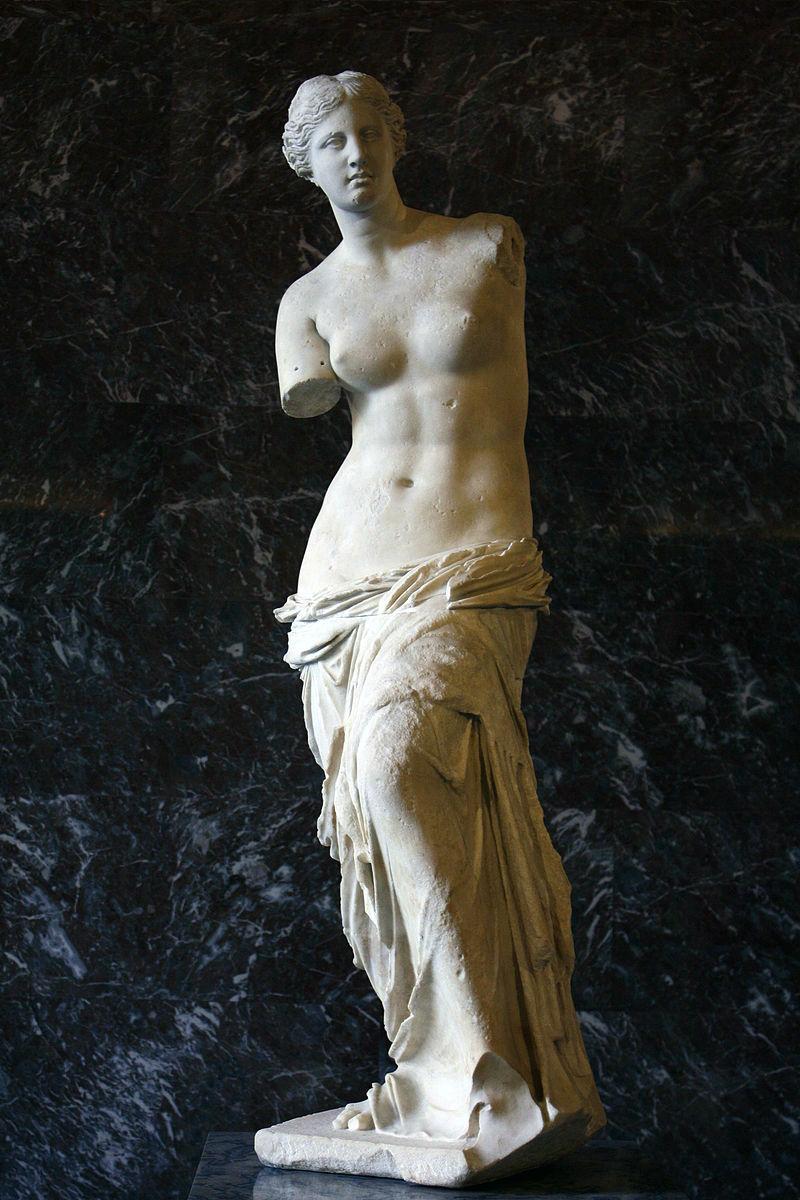 1-Александр Антиохийский (предположительно) - Венера Милосская - Около 130-100 до н э.jpg