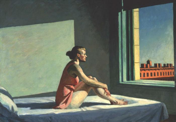 Эдвард Хоппер - Рыжее утреннее солнце 1.jpg