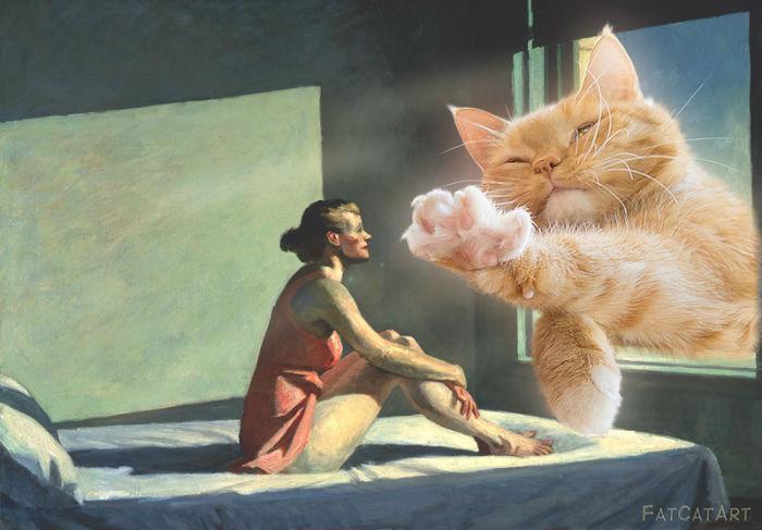Эдвард Хоппер - Рыжее утреннее солнце.jpg