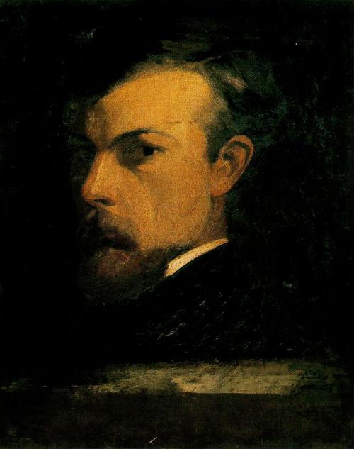 Одилон Редон - Автопортрет - 1867.jpg