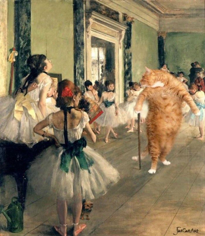 Эдгар Дега - Балетный класс.jpg